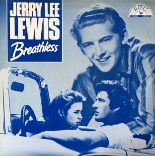 "Jerry Lee Lewis ‎- Breathless/High School Confidential (12"") (VG+/G-VG)"